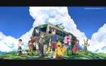 """Welches dieser Partner Digimon aus """"Digimon Adventure"""" stand als erstes fest?"""