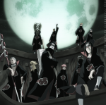 Du kommst an eine Lichtung und vor dir stehen 2 Mitglieder von Akatsuki. Welche?