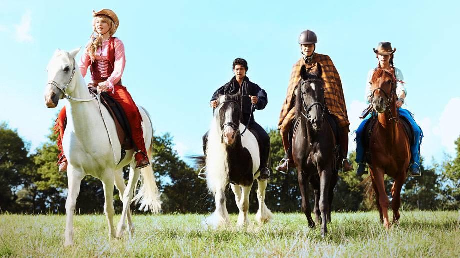 Ausmalbilder Bibi Und Tina Pferde Id Stern Vorlage Mandala Blumen