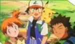 In den ersten Staffeln reist Ash mit Misty und Gary herum!