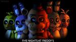 Wnn in FnaF 1 Chica und Freddy in der Küche sind kann man sie sehen aber nicht hören!