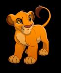 Wem mochte Simba als er noch jung war, zuerst nicht?