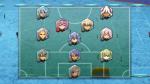 Team Music: Sturm: (4) Haru, Shina, Ai, Kiku Mittelfeld: (3) Lyra Verteidiung: (3) Chiyo, Kikyo Tor: Leiko