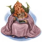 Wie hieß die Frau, von der Tom Riddle, also Voldemort, das Medaillion und Helga Hufflepuffs Trinkpokal hat?