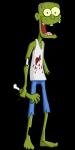 Die Zombies Man weiß nicht genau warum sie so sind, aber sie sind tot. Der einzige Weg sie zu töten ist ein Schuss in den Nacken. Der Nacken ist nic