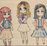 Francesca, Camila und Violetta sind in der Serie die größten Rivalen (Feindinnen).