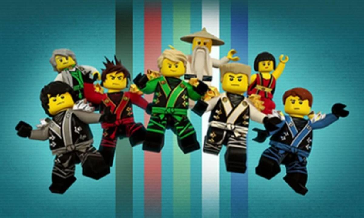 Ninjago lovestory nr 5 - Ninjago les 4 armes d or ...