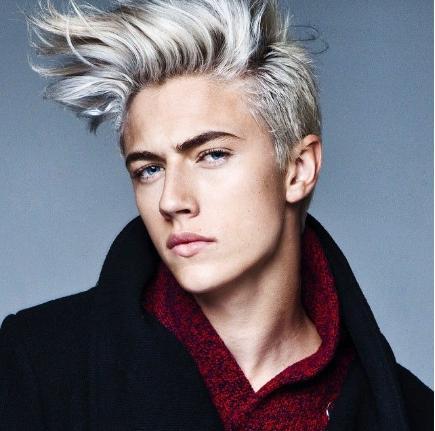 Mann Blonde Haare Blaue Augen Hylenmaddawardscom