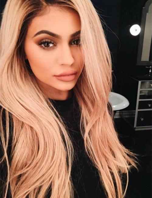 Lange blonde haare grune augen
