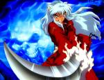 Inuyasha: Hier ist mein Inu XD! Ich Liebe seine Öhrchen *schwärm*: D! Ja ich steh auf freche Typen die Herz haben ;). Mein Inu! So XD ^^!