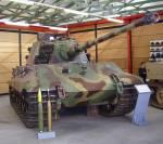 Der Königstiger konnte die Vorderseite des M4 Schermans schon auf...
