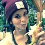 Betty mit ihrer Banane 🍌😃