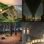 ((bold)) Orte ((ebold)) Bild oben links: Idris (Heimat der Schattenjäger, bis sie nach New York kamen) Bild oben rechts: Die Stadt Bild unten links: