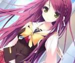 Name: Ayame Nakaria Alter: 17 Aussehen: lange Pink Rote haare, dunkel gelbe Augen, groß und dünn Charakter: Nett, Lustig meistens Kalt und verschlos