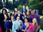 Das Foto wurde nach German's und Prischilla's Hochzeit gemacht.