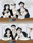 Comic zu griechischen Göttern (Nicki Rpg)