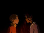 Wo küssten sich Katara und Aang das erste Mal?