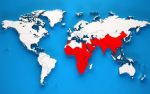 Diese Karte zeigt das Verbreitungsgebiet...