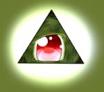Illuminati im Anime style.
