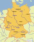 Welches dieser Länder grenzt NICHT an Deutschland?