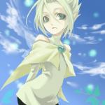 Name: Celestyna Spitzname: Cely Alter: 15 Geschlecht: Weiblich Pokemon Art: Celebi Aussehen: Blaue Augen, Hellblonde Haare, Grünes Schlabbershirt, Ku