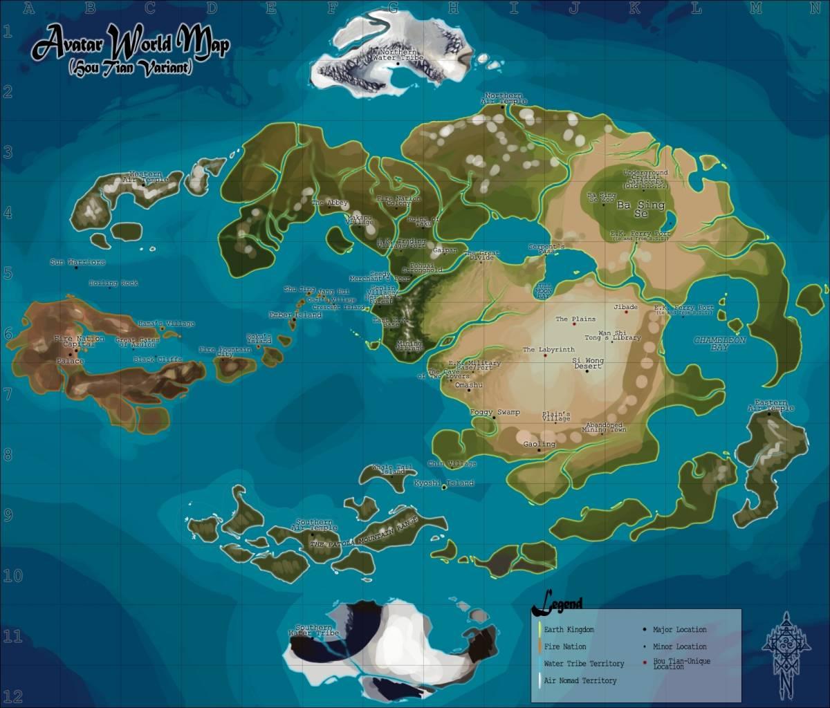 avatar karte RPG zu