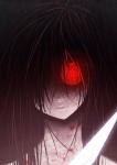 Sie ist eine Künstlerin das Blatt die Haut der Pinsel die Klinge und die Farbe ihr Blut.