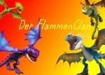 Die Hierarchie des FlammenClans: Alpha: STURMFLÜGEL (Storm) - Tödlicher Nadder, rötliche Schuppen, lilane Stacheln, blaue Flügel, gelbe Augen und