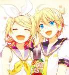 Wie alt sind Rin und Len?