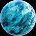 """((bold))Ai((ebold)) """"Schau mal Ai, dieser Planet ist ein besonders schöner! Es soll ein riesiger Wasserplanet sein der Sazanaara ähnelte."""" Ai ni"""
