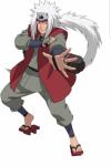 Von wem hat Naruto das Jutsu des vertrauten Geistes gelernt?