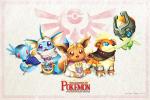 ((bold)) The Legend of Pokémon ((ebold)) Hier kommen Pokémon und Zelda zusammen mit neuen Freunden, Feinden, Gebieten und natürlich mit neuen Abent