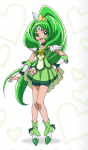 Cure Marchs richtiger Name ist Midorikawa Nao.