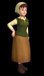 Wie heißt die Tante von Heidi?