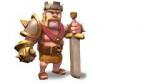 Auf welchem Level muss das Rathaus sein damit man sich ein Barbarenkönig holen kann?