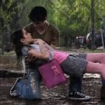 Hat Violetta Thomas als Erstes geküsst?