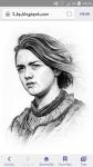 Wie heißt die Schauspielerin von Arya Stark?