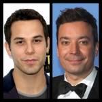 ((bold))Skylar Astin und Jimmy Fallon((ebold)) Auf eine Art und Weise sehen sich die beiden irgendwie ähnlich.