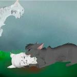 Fakt 10: Tigerstern hatte Mitleid mit Graustreif, als Silberfluss gestorben ist.