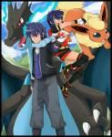 ((navy))My life with a black Pikachu((enavy)) Heute: Familien Treffen! Hey Leute hier ist wieder Luna! Demon: Und ihr Flauschball Demon. Heute stellen
