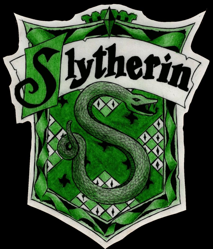 Slytherin House Crest Coloring Page