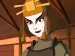 Wie hieß die Anführerin der Kyoshi-Kriegerinnen?