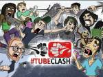 Wann startete das Crowdfunding für die erste #TubeClash Staffel?