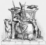 Welcher germanische Gott wacht über dich?