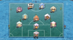 Alle Spieler von Galaxy Eleven: Sturm: Kagami, Ai, Sol, Bitway, Killia Mittelfeld: Rolan, Tama, Banda, Faith Verteidigung: Mayumi, Minaho, Manabe, Kik