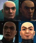 Welcher von diesen Soldaten ist Rex?