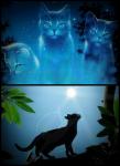 ,, Au ja!'' rief Efeu erfreut und lief los. Die beiden Kätzchen liefen auf den Zweibeinerort zu. Kurz davor hielt Echo an.,, Ich weiß nich