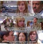 In der 1. Folge von Greys Anatomy sagt Dr. Webber dass am Ende nur 2 übrig bleiben, wer sind die 2?