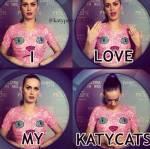 Jetzt zum Schluss, die wichtigste Frage. Bist du eine/ein Katy Cat?