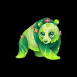 Pandazette Diese schläfrigen, bärenänlingen Wesen verbringen die meiste Zeit auf Blumenfeldern und sonnen sich dort